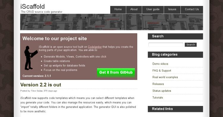 Website iScaffold